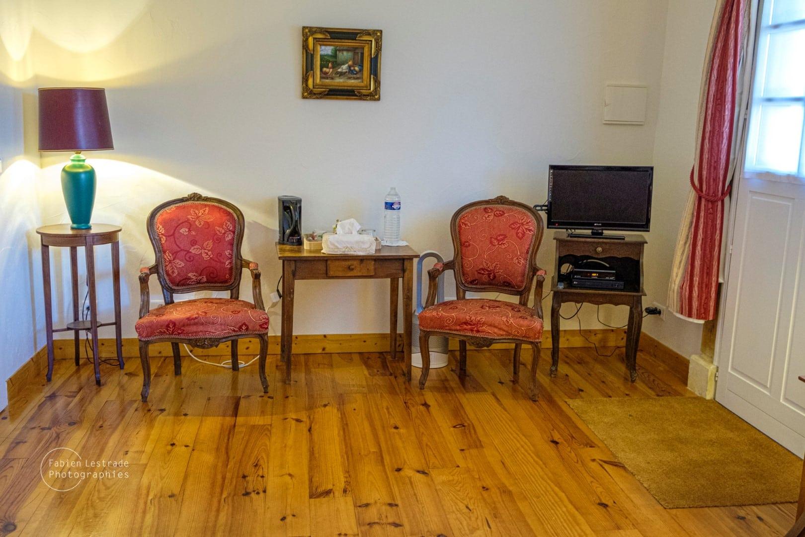 Chambre Safran - La Bergerie - Pays d'Auge