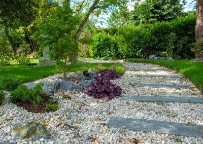 Jardin japonais - Chambres d'hôtes La Bergerie - Pays d'Auge
