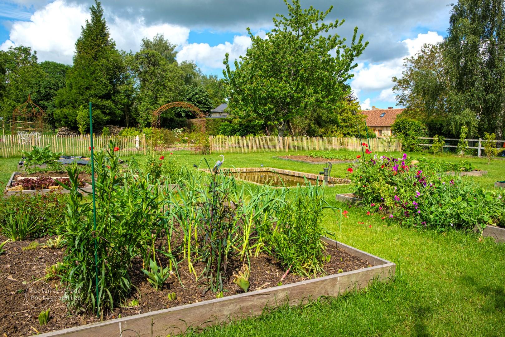 Jardin - Chambres d'hôtes La Bergerie - Pays d'Auge