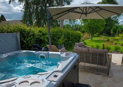 Spa-jacuzzi - Chambres d'hôtes La Bergerie - Pays d'Auge