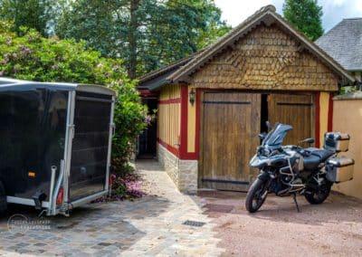 Garage - Chambres d'hôtes La Bergerie - Pays d'Auge